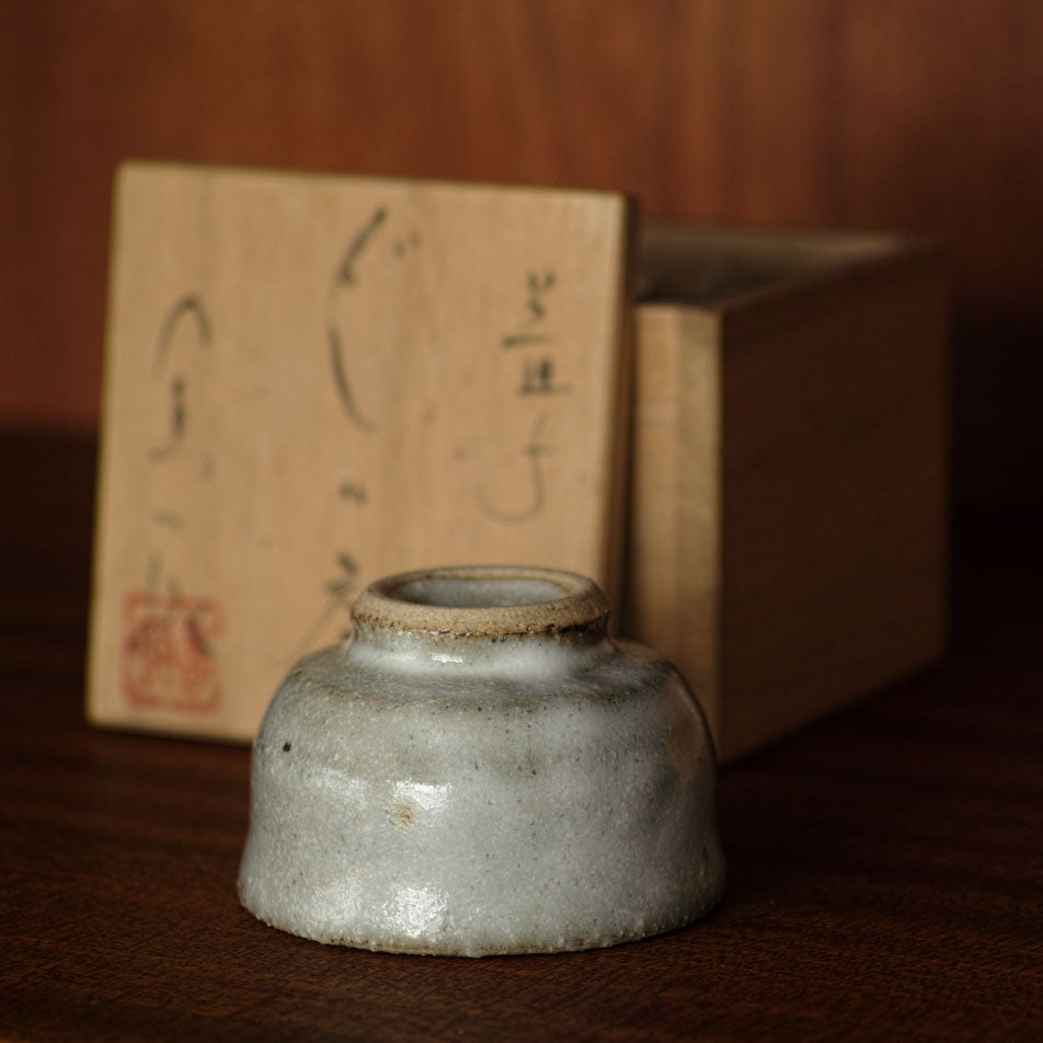 sake cup from mashiko in japan