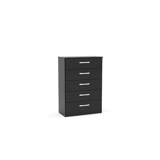 Birlea Lynx 5 Drawer Chest Black