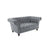 Birlea Chester 2 Seater Sofa Grey