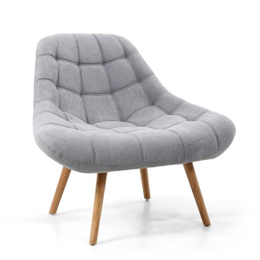 Shankar Shell Light Grey Armchair