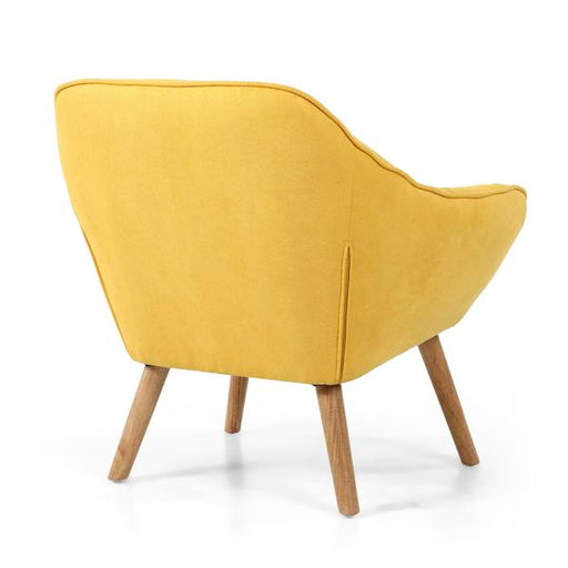 Shankar Coral Sunny Yellow Studio Chair