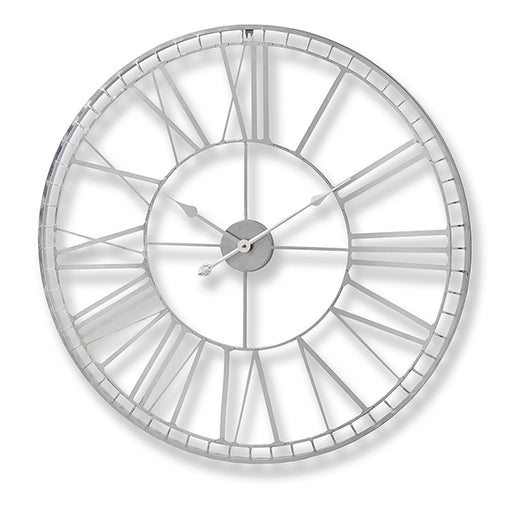 Hill Large Nickel wall clock