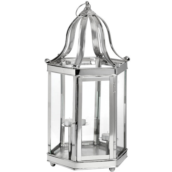 Hill Decorative Lantern With 3 Candle Stands