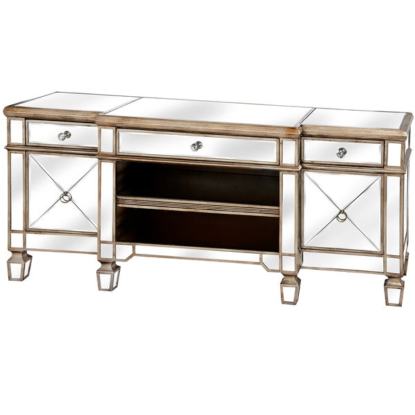 Hill The Belfry Collection Mirrored Media Unit