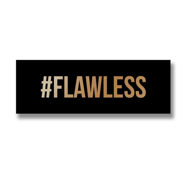 Hill Flawless Gold Foil Plaque