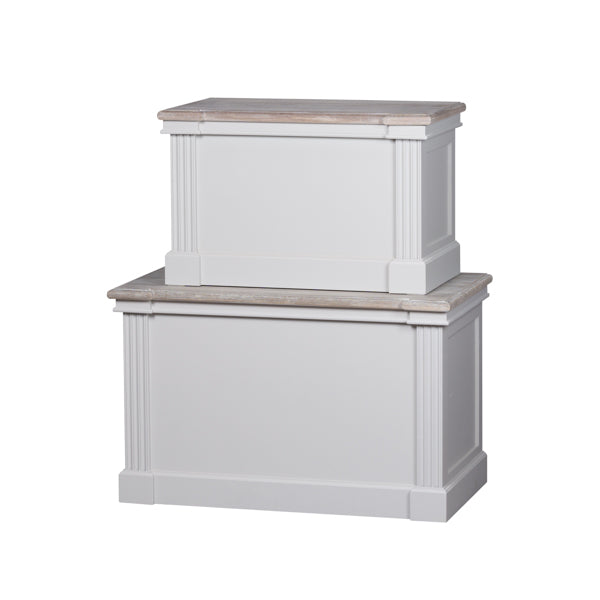 Hill The Liberty Collection Set Of Two Blanket Boxes