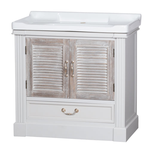 Hill The Liberty Collection Vanity Sink Unit With Louvred Doors