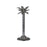 Hill Large Silver Palm Tree Candle Holder In A Nickel Finish