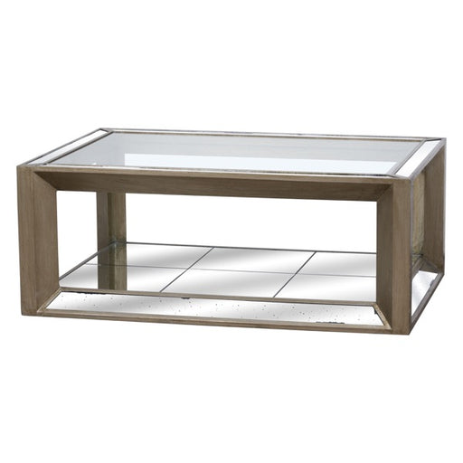 Hill Large Augustus Mirrored Coffee Table
