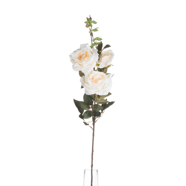 Hill White Rose Spray
