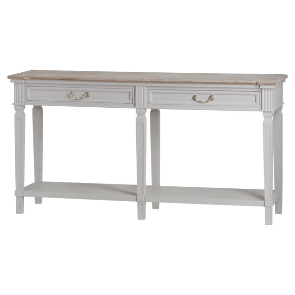 Hill The Liberty Collection Two Drawer Hall Table With Shelf