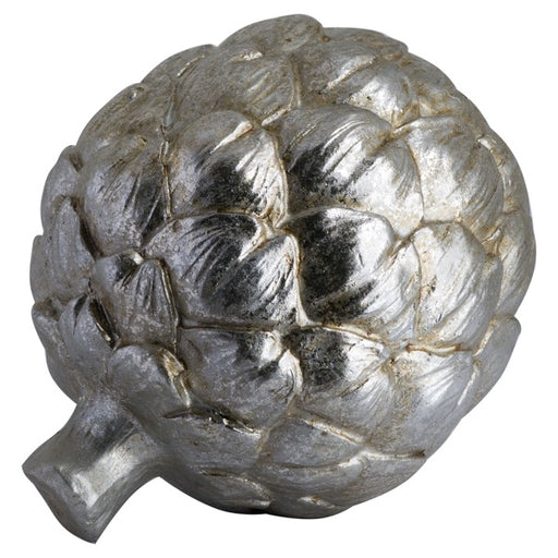 Hill Large Silver Artichoke Decoration