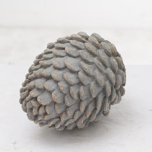 Hill Interiors Decorative Grey Pinecone