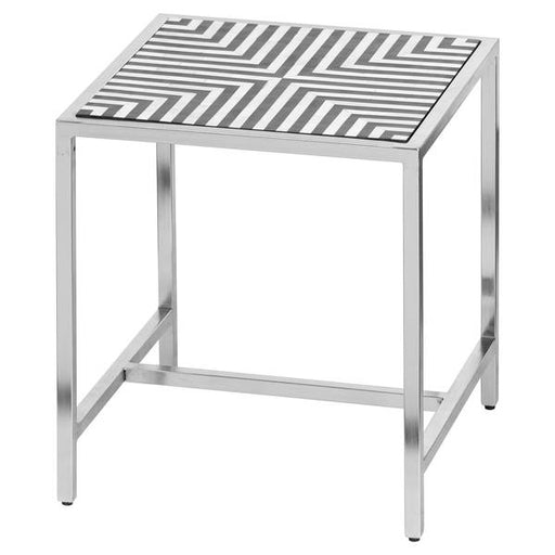 Hill Interiors Handmade Bone Inlay Side Table