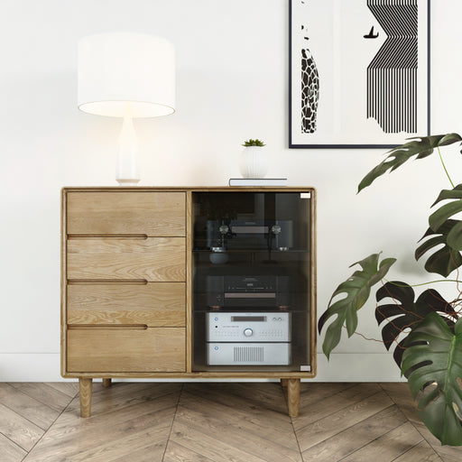 Homestyle Scandic Small Glazed Chest