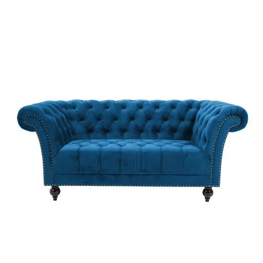 Birlea Chester 2 Seater Sofa Blue