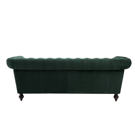 Birlea Chester 3 Seater Sofa Green