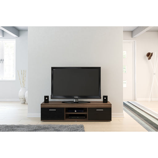 Birlea Edgeware Tv Unit Walnut & Black