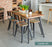 Baumhaus Coastal Chic Large Rectangular Dining Table