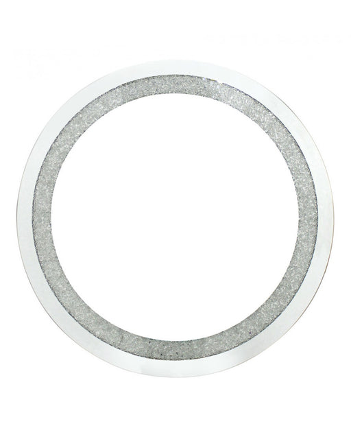 Diamond Crush Small Round Mirror