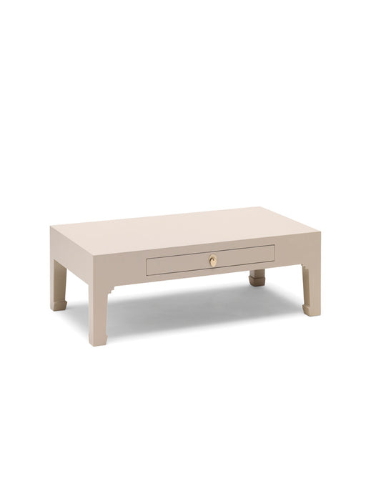 Baumhaus 40644 - The Nine Schools Qing Oyster Grey Coffee Table with Drawer