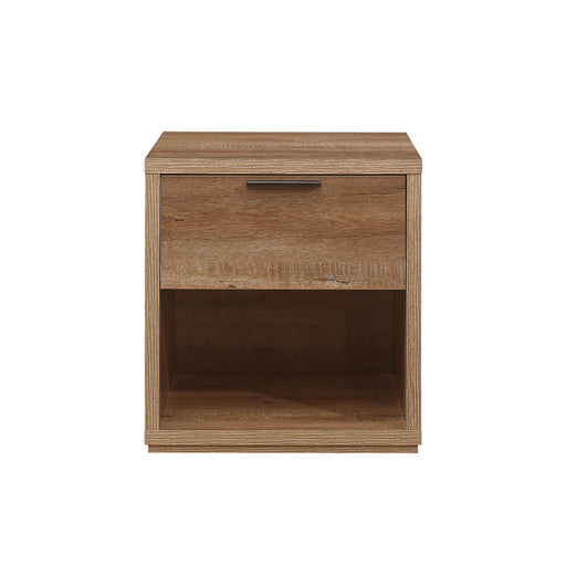 Birlea Stockwell 1 Drawer Bedside Rustic Oak Effect