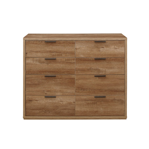 Birlea Stockwell Merchant Chest Rustic Oak Effect