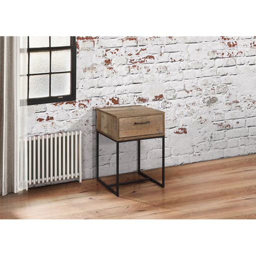 Birlea Urban 1 Drawer Narrow Bedside Rustic
