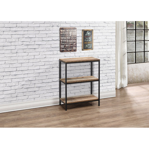Birlea Urban 3 Tier Bookcase Rustic
