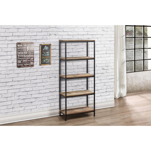 Birlea Urban 5 Tier Bookcase Rustic