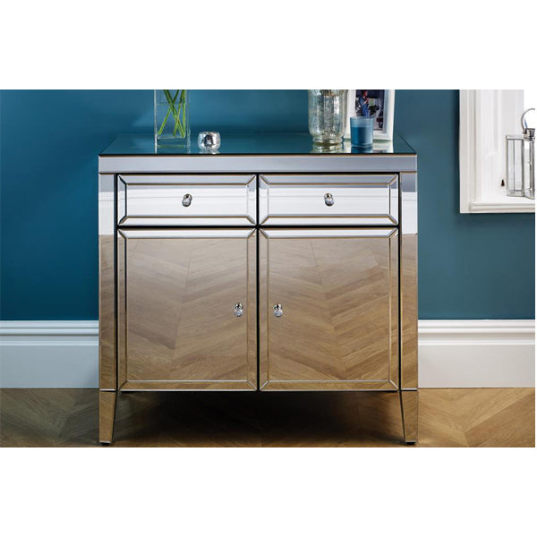 Birlea Valencia 2 Drawer 2 Door Sideboard