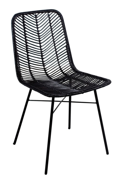 Anya Dining Chair - Black