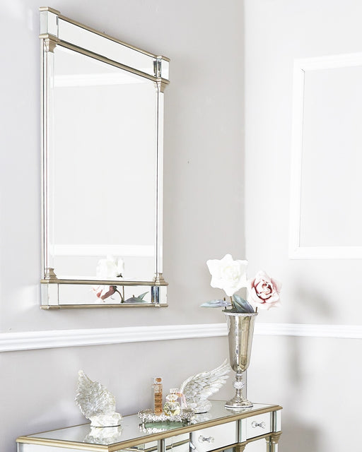 Champagne Amber Wall Mirror