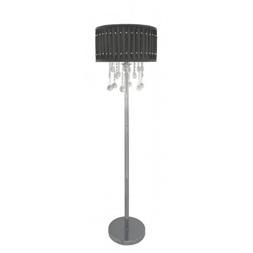 Grey Versailles Floor Lamp