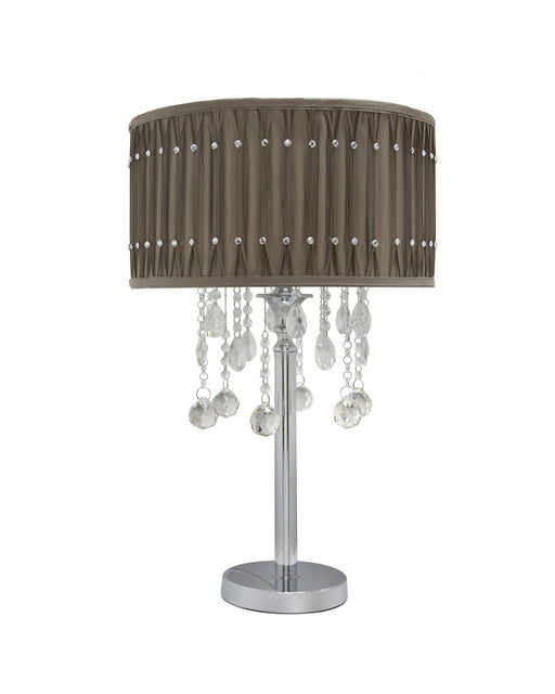 Taupe Versailles Table Lamp
