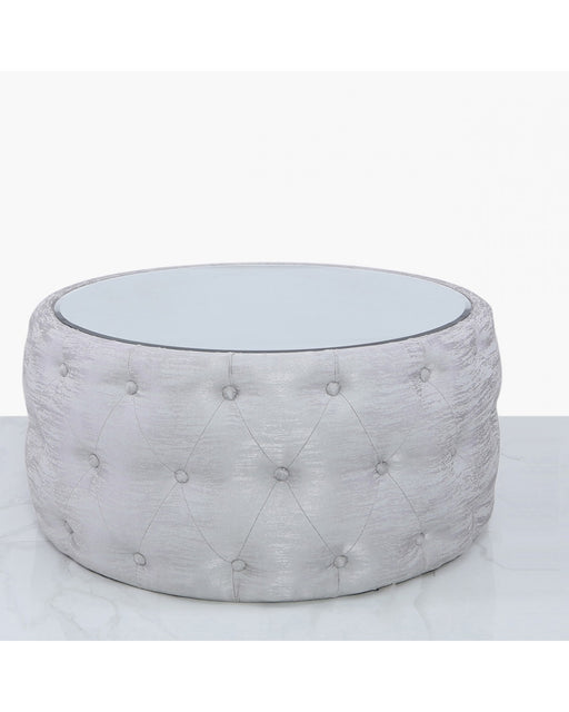Jasmine Silver Coffee Table With Mirrored Top