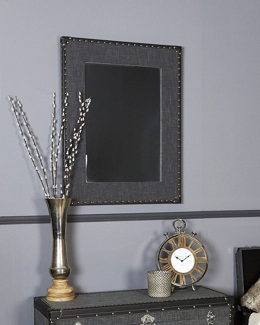 Grey Barcelona Vintage Wall Mirror
