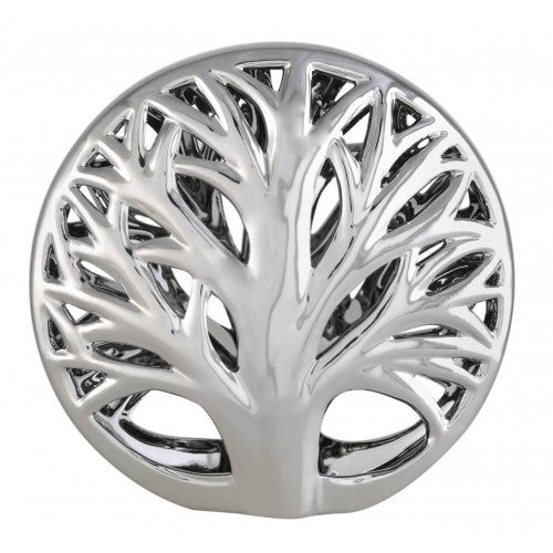 22.5cm Tree Decoration Silver