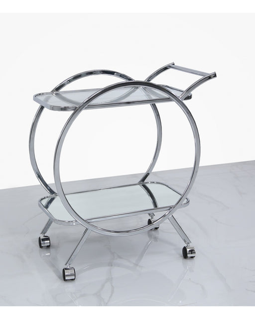 Valetta Harrison Mirror Drinks Trolley