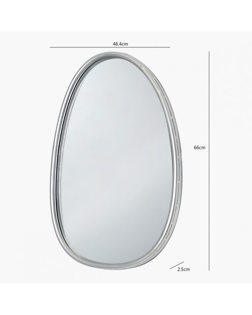66cm Oblong Wall Mirror