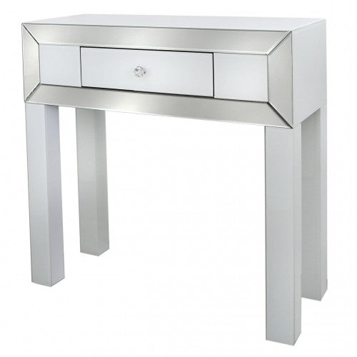 Otto Mirror White Console Table