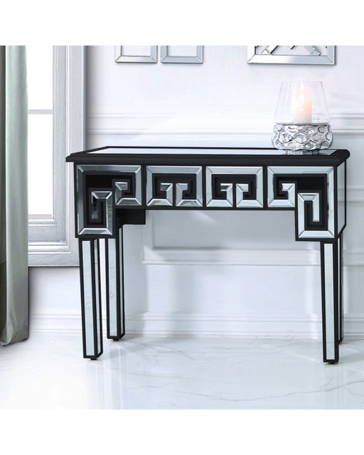 Harley Mirror Console Table Black