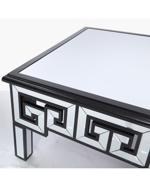 Harley Mirror And Black Coffee Table