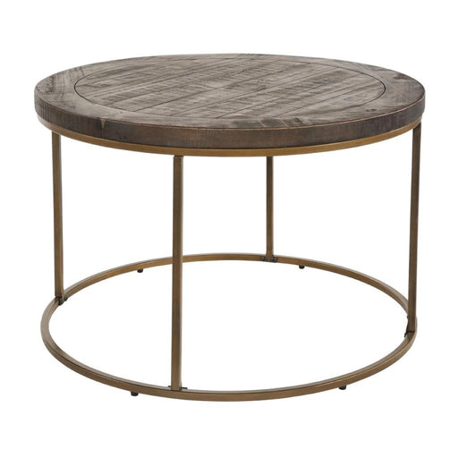 Rowico Pentworth Nutmeg Coffee Table Circular