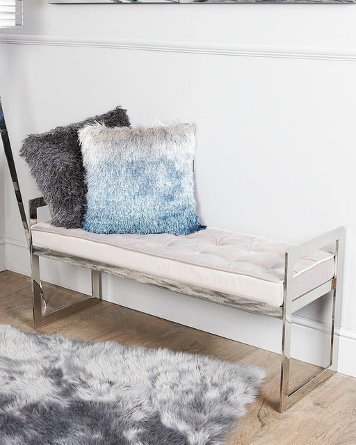 Zayne Stainless Steel Bench