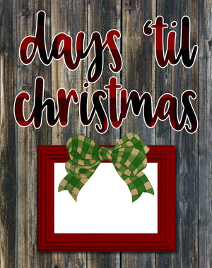 Christmas Countdown Boards