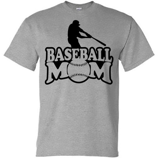 Baseball Mom with Player