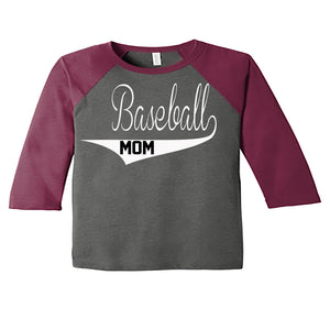 Raglan Baseball Mom