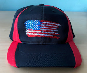 Distressed USA Flag Hat