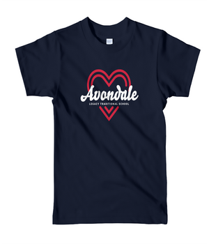 Legacy Traditional School Avondale - Navy Spirit Day Shirt